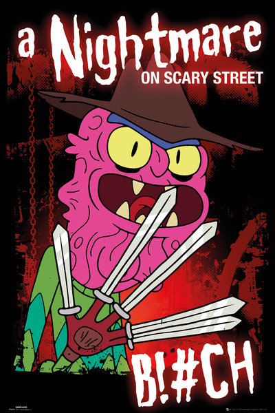 Plakát Rick a Morty Scary Terry