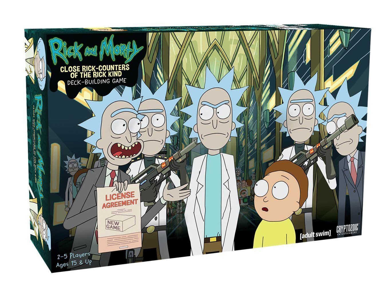 Karetní hra Rick and Morty: Close Rick-Counters of the Rick Kind - EN