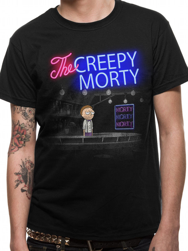Tričko Rick and Morty Bartender Morty