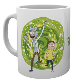 Hrnek Rick a Morty Portal