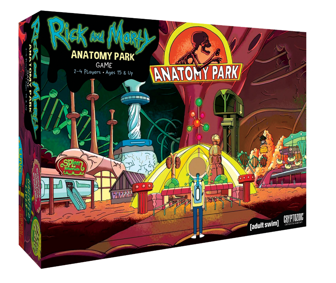 Rick and Morty: Anatomy Park Stolní hra - EN