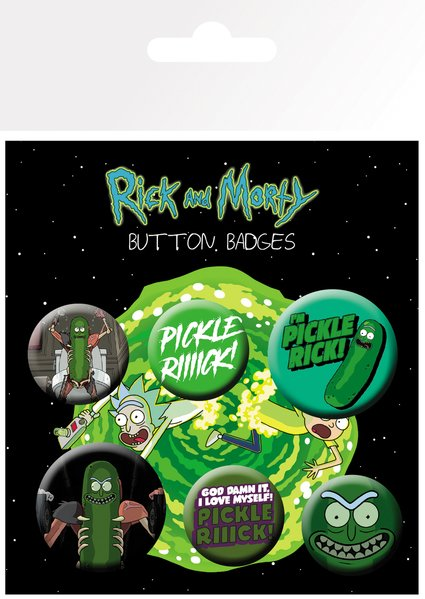 Placky Rick a Morty Pickle Rick