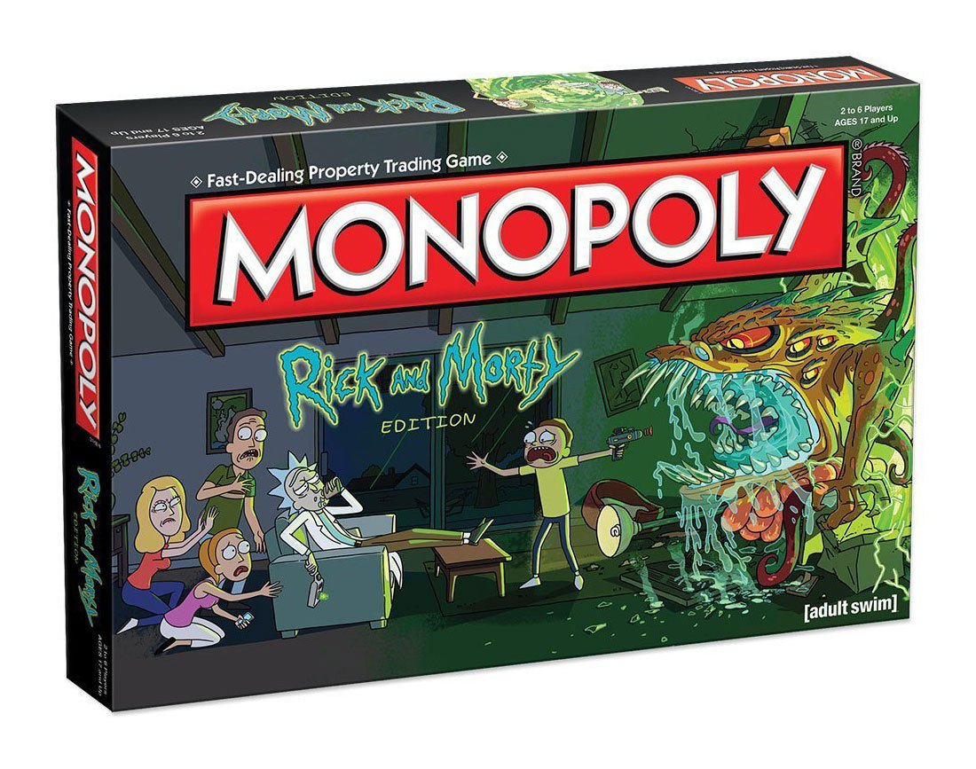Rick and Morty: Monopoly Stolní hra - EN