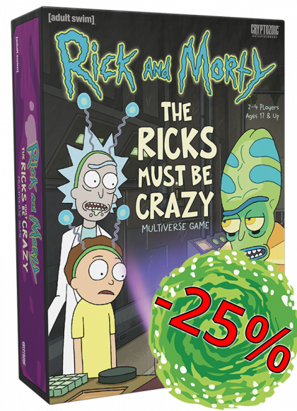 Rick and Morty: The Rick Must Be Crazy Multiverse Game - EN